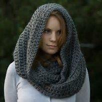 15 Free Crochet Hooded Scarf Patterns