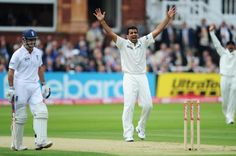 Zaheer Khan spearheaded India to victory against England in 2007 by picking up 9 wickets in the second Test match. He was the highest wicket-taker in the Test series picking up 18 wickets in 3 ... more