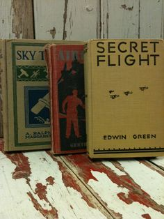 Vintage Aviation Children Books