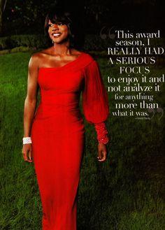 Viola Davis :: focusing on present