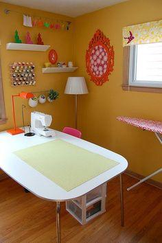 My sewing room   Jennifer Ladd Handmade