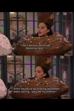 Kills me two broke girls and a cupcake