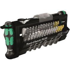 Prof-Tools > Wera Tool-Check PLUS Tool set consisting of ratchet, bits, sockets and a handle, 39 pieces