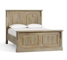 Linden Wood Panelled Bed