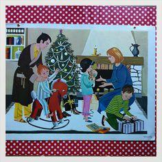 Rare en milieu scolaire Français du siècle deux faces affiche très coloré - Noël sur Etsy, 55,00€