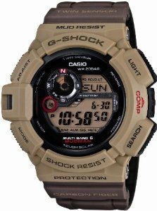 CASIO G-SHOCK MUDMAN Men in Military Colors Tough Solar Radio Controlled MULTIBAND 6 GW-9300ER-5JF (Japan Import) Casio. $420.00