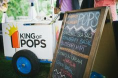 Charleston Weddings magazine Summer 2014 / photograph by Lindsey A. Miller Photography at The Cottages on Charleston Harbor / popsicles from King of Pops