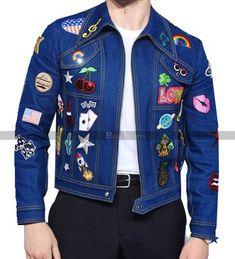 Taron Egerton, Black Friday Deals, Dressing, Denim, Casual, Tv Series, Patches, Jackets, Blue