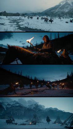 The Revenant by Alejandro Iñárritu - glorious landscapes (cinematographer Emmanuel Lubezki) Descubra 25 Filmes que Mudaram a História do Cinema no E-Book Gratuito em http://mundodecinema.com/melhores-filmes-cinema/