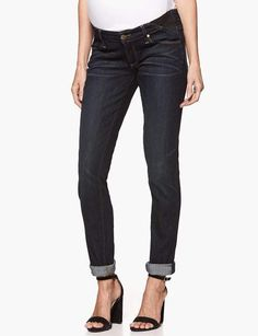 Jimmy Jimmy Skinny Maternity - Rebel without a Cause. . A slouchy boyfriend maternity jean with a tailored fit. Created with elastic pull strings embedded in waistband.. . #maternity  #maternityfashion  #maternitystyle