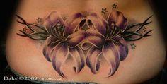 Flower tribal tattoo by ~Daksi on deviantART