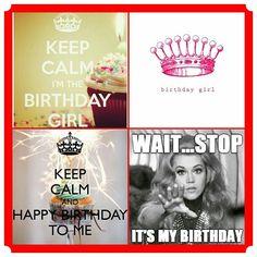 It's My Birthday!! #birthday #mybirthday #TeamLeo