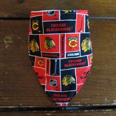 Bandana Drool Bib: Chicago Blackhawks Personalization Optional