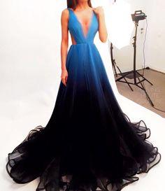 """Ana Radu Ombre Dress """