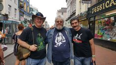 In Oliver Plunckett Street with Friends from My Rory Gallagher Tribute Group on Facebook