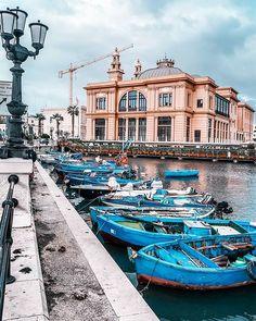 BARI, APULIA (PUGLIA), ITALY Puglia Italy, Bari, Track, Instagram, Theater, Italia, Runway, Truck, Running