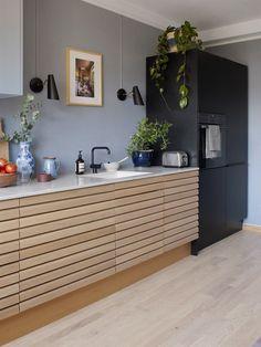 Home. Jotun Lady Lin … - All For House İdeas Cosy Kitchen, Living Room Kitchen, New Kitchen, Küchen Design, House Design, Interior Design, Cocinas Kitchen, Beautiful Kitchens, Kitchen Interior