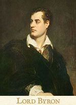 Lord Byron, featured in Tahir Shah's novel Timbuctoo | www.timbuctoo-book.com