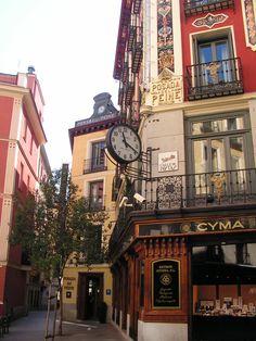 Calle Postas in Madrid!