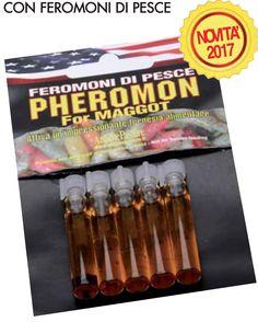 5 Fiale di Pheromon x Bigattini super attrattivo