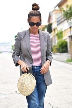 basket bag and stripes | stellawantstodie