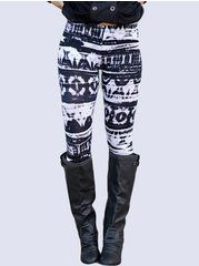 Elastic Slim Printed Stylish Comfortable Leggings