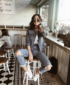 20 Edgy Fall Street Style 2018 Outfits To Copy, Winter Outfits, Casual Fall Fashion Trends & Outfits 2018 Autumn Fashion Casual, Fall Fashion Trends, Trendy Fashion, Casual Fall, Womens Fashion, Fashion Ideas, Casual Summer, Trendy Style, Fashion Pictures