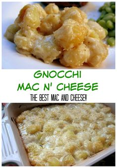 Gnocchi Mac and Cheese - THE BEST mac and cheese EVER! They only mac and cheese recipe you will need!