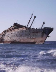 The Unloved Boats: 8 Abandoned Cruise Ships