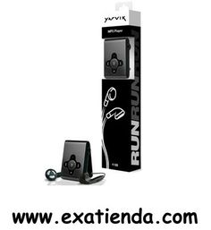 Ya disponible REPRODUCTOR SWEEX M.PLAYER 4GB YARVIK RUN                   (por sólo 18.58 € IVA incluído):   - Audio Potencia de Salida: 600 mV RMS Audio, formatos de compresión: MP3, WMA, OGG  - Conectividad Interfaz: USB 2.0  Gerencia de la energía Tecnología de batería: Li-ion Rendimiento de batería: 130 mAh Tiempo de recarga de la batería: 2.5 h Tiempo continuo de audio playback: 5 h  - Capacidad de almacenamiento: 4 GB - Indicadores LED: 2  - Auriculares Frecue