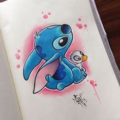 New Tattoo Disney Stitch Ohana Pictures 52 Ideas Duck Tattoos, Baby Tattoos, Love Tattoos, Unique Tattoos, Tatoos, Disney Drawings Sketches, Cute Disney Drawings, Tattoo Sketches, Image Tatoo