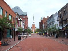 Burlington, VT.  Yes I know I used to live here, but I'm ready to go back for a visit.  :)