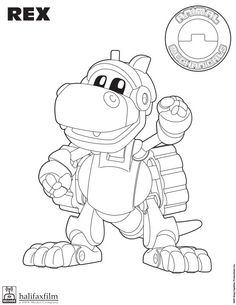 Excellent Animal Mechanicals Coloring Pages Color Book Ideas For
