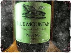 A great little Okanagan Red. Blue Mountain, Pinot Noir, Red Wine, Vineyard, Vine Yard, Vineyard Vines