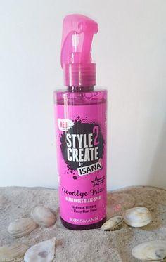 "Glatt-Spray ""Goodbye Frizz"" von Style2Create by ISANA"
