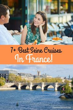 Take a romantic dinner cruise on the Seine! Learn the best tips to choosing the best River cruise in Paris for couples! Paris Travel Tips, Europe Travel Guide, France Travel, Travel Guides, Backpacking Europe, Europe Packing, Traveling Europe, Packing Lists, Travel Packing