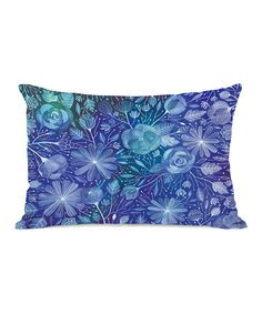 Look what I found on #zulily! Electric Flowers Pillow #zulilyfinds