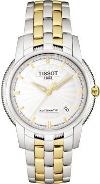 T97.2.483.31  NEW TISSOT T-CLASSIC BALLADE III AUTOMATIC MENS WATCH    Usually ships within 8 weeks - FREE Overnight Shipping  - NO SALES TAX (Outside California) - WITH MANUFACTURER SERIAL NUMBERS - Silver Dial      - Self Winding Automatic Movement - 3 Year Warranty - Guaranteed Authentic  - Certificate of Authenticity - Brushed