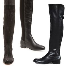 Rank & Style - Best Black Over-the-knee Boots < $500 #rankandstyle