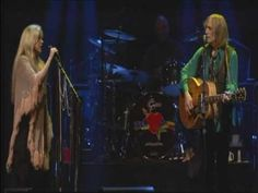 Stevie Nicks & Tom Petty in Gatorville. My 2 favorite artists, both very talented and gifted songwriters. This one of my all time favorite songs - Insider.