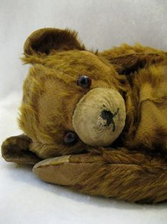 I had a bear like this when I was little.