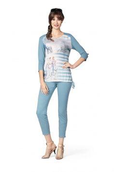 Sona-Shirt Trendfarbe 2016 Fashion Serenity