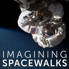 """How would it feel to float above Earth or walk on the Moon with nothing but a spacesuit to protect you?  Our new """"Imagining Spacewalks"""" Tumblr invites you to follow in the footsteps of artists who have been captivated by this feeling since humans began to venture out into space. Over the next several months, we'll be sharing iconic spacewalk photography and more to inspire you creatively! Check out the project and participate. #Spacewalk50"""
