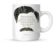 Classic Ron Swanson Quoteparks Mya Coffee Coffe Mug , Custom Mug, Personalised Photo Mug, Unique Gift by DK Collection Novelty License Plates, Novelty Ties, Novelty Fabric, Ron Swanson, Personalized Photo Mugs, Best White Elephant Gifts, Altered Cigar Boxes, Novelty Store, Gifts For Boss