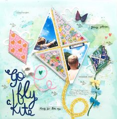 I turned this adorable cut file from into a shaker and cut my photos to for the shape of the kite. Kites Craft, Go Fly A Kite, Weekend Fun, Cutting Files, My Photos, Scrapbooking, Scrapbook Layouts, Shapes, Projects