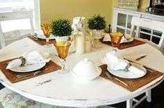 St. Patricks Day Tablescape and Centerpiece Wednesday