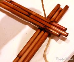 As I was spring-cleaning, I found 2 old bamboo placemats that I had bought about 6 years ago at Pier 1 Imports. I bought only 2 because i...