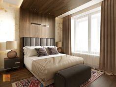 Фото дизайн спальни из проекта «Дизайн трехкомнатной квартиры 84 кв.м. в современном стиле, ЖК «Резиденс»»