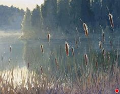 Quietude by Kathleen Dunphy Oil ~ 24 x 30. Link to multiple works.