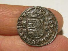 16 maravedis, Felipe IV, 1664, Granada